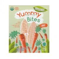 Yummy Bites ORGANIC Baby Rice Cracker 50 gram - Carrot