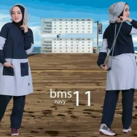 Believe BMS 11 - Baju Muslim Senam Olah Raga Syar'i Termurah Original