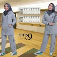 Believe BMS 09 - Baju Muslim Senam Olah Raga Syar'i Termurah Original