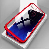 Case Oppo F9/F9 Pro Magnitic glass back cover