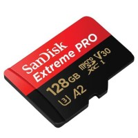 Sandisk Micro SDXC Extreme Pro A2 U3 170Mbps Class 10 128Gb 4K Uhd