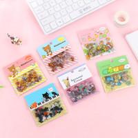 Sticker Plastik Sumikko, Rilakkuma, Sentimental Circus Isi 80pcs