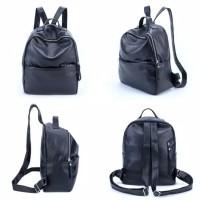 Tas Wanita Import Ransel Backpack Kulit Sintetis PU Leather Premium