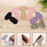 T Shape Shoe Insoles / Bantalan Sol Pengganjal Tumit Sepatu Kebesaran