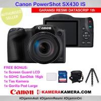 Canon PowerShot SX430 IS - Screen - SanDisk 16gb - Tas - Gorilla Pod