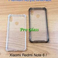 Xiaomi Redmi Note 6 PRO Anticrack / Anti Crack / ACRYLIC Case Silicone