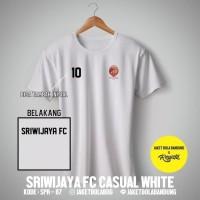 T5262 Kaos Tshirt Baju Combed 30S Distro Sriwijaya FC Grade Ori Jersey