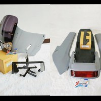 Fairing SSR Bejita HMA & Body Bodi Kotak KR Set Depan Belakang Ninja