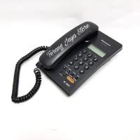 Telepon Kabel Panasonic KX-T7705 (Hitam) Pesawat Telepon Rumah T7705