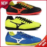Sepatu Futsal Specs Mizuno Rebula V3 IN Black Strong Blue
