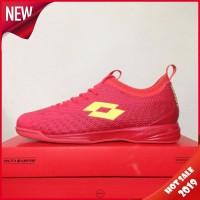Sepatu Futsal Lotto Spark IN Solar Red Yellow L01040005 Original BNIB