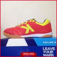 Sepatu Futsal Kelme Feline Evo Red Yellow 55818130 Original BNIB