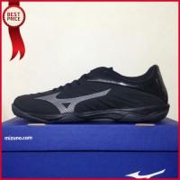 Sepatu Futsal Mizuno Rebula Sala Black Shadow Q1GA194104 Original BNIB