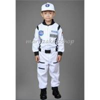 Baju / Stelan / Kostum Profesi Astronot Putih