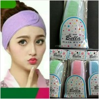 Bandana / Bando Facial / Penahan Poni Untuk Cuci Muka / Masker 5Cm