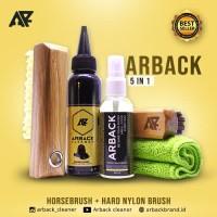 Paket 5 In 1 - Arback Shoe Cleaner - Pembersih Sepatu Arback Premium