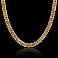 KALUNG PRIA TITANIUM GOLD MODEL RANTAI DOUBLE