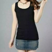 TankTop Kaos T-Shirt Singlet Tank top Sport Seamless Wanita
