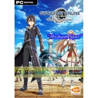 SWORD ART ONLINE HOLLOW REALIZATION CD DVD GAME PC GAMING PC GAME