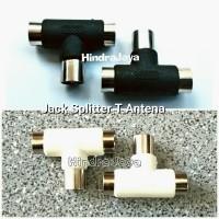 Jack Antena TV Model T / Splitter TV