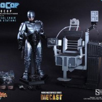 Hot Toys Robocop with Mechanical Chair