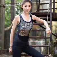 Tanktop rompi olahraga wanita kaos baju sport gym fitness senam 116