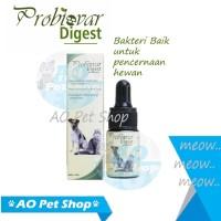 Obat vitamin diare pencernaan probiovar digest hewan kucing anjing
