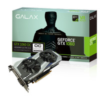 GALAX Geforce GTX 1060 OC (OVERCLOCK) 6GB DDR5