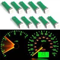 10Pcs Lampu LED T5 5050 1SMD 2721 74 73 70 17 18 37 Dashboard Motor
