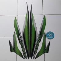 stiker motor honda revo fit std 2011 hijau