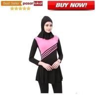 Baju Renang Kerudung Wanita Diving Style Swimsuit MA2204 Size XL