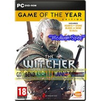 THE WITCHER 3 GOTY CD DVD GAME PC GAMING PC GAMING LAPTOP GAMES