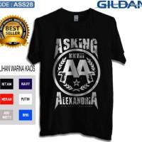 Kaos asking alexandria band-Kaos original gildan softsttyle ass28