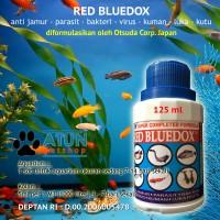 Obat Ikan RED BLUEDOX Anti Jamur Parasit Bakteri, Kuman Dan Luka