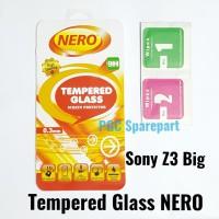 TG NERO Tempered Glass Kaca Pelindung Anti Gores Sony Xperia Z3 Big