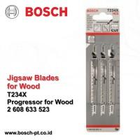 Mata Jigsaw / Mata Gergaji / Jigsaw Blade Kayu T234X Bosch
