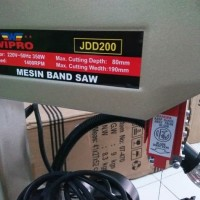 WIPRO band saw jdd 200 mesin gergaji bandsaw jdd200 tebal potong 80mm