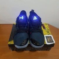 Sepatu Playstation X Nike PG 2 Black Blue Premium Original BNIB