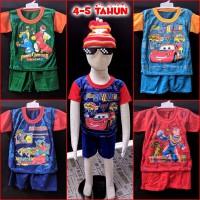 Baju Setelan Anak Laki 4-5 tahun