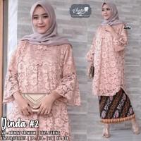 baju atasan kebaya wanita dinda#2 bruklat muslim modern modis unik