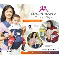 Gendongan Bayi Depan Hipseat Hip Seat Baby Joy Mavy MBG 2018