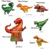 Balon Foil Dinosaurus Jumbo 86 cm x 80 cm
