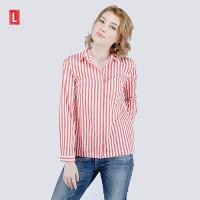 Logo Jeans Shirt Rachelle Orange Offwhite 24598L5OO