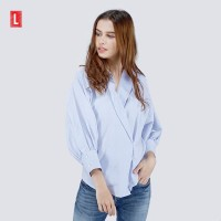 Logo Jeans Shirt Blue Zinc Blue 24591L5BL