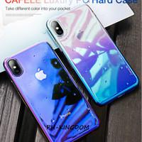 CAFELE iPhone XS / XR / XS Max - Luxury Gradient Aurora Hard Case - Hitam, iPhone XS