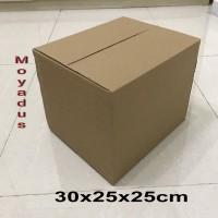 kardus/karton/box uk.. 30X25X25 cm untuk packing, MP