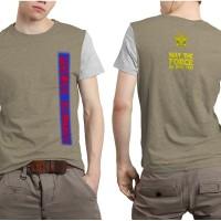 Baju Kaos Dewasa Pria wanita Fullprint Fans Polisi Militer