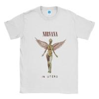 Baju Kaos Band Nirvana BleachIn Utero