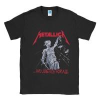 Baju Kaos Band Metallica Justice For All