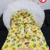 Kasur Bayi Kelambu Lipat Karakter Mickey Mouse perlengkapan ba Terbaik